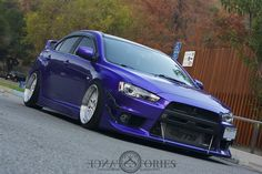 EVO X. Must have the purple!!