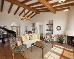 Custom Mountain Home Living Room by Allen Associates, near Santa Barbara, California.