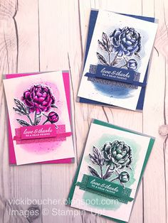 Vicki Boucher Stampin' Up! Demonstrator Australia: Art With Heart June Creative Showcase - New Catalogue Products