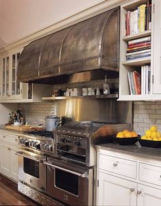 Beautiful industrial stoves for the home | ... Home Items - Home Accessories You Don't Need - House Beautiful