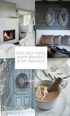 Moodboard | Cold & Cosy. #anke
