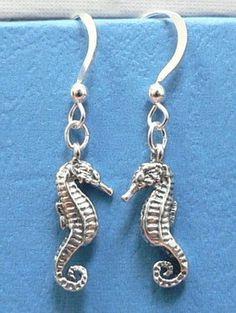 Sea Horse Sterling Silver Ocean Theme