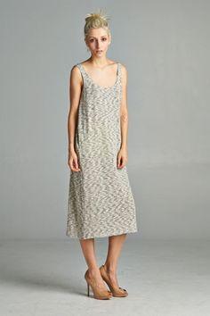 Cute boxy midi dress. Made with soft sweater knit fabric. Simple but stylish and comfortable. Made in USA.  www.cherishusa.com www.fashiongo.net/cherish