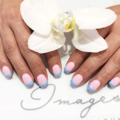 What color french tip do you like?