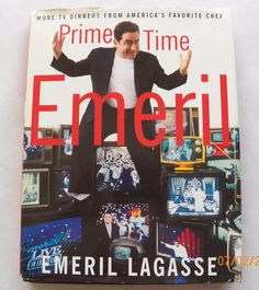 Prime Time Emeril 2001 HC DJ 1st ed. (7316-208) cookbooks