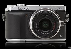 """Panasonic Lumix GX7 -- a nice, mid-range """"mirrorless"""" Micro 4/3rds MILC camera from Panasonic to challenge the Sony and Olympus MILC system cameras out there...."""