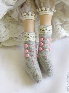 Knitting Dolls Clothes, Sewing Dolls, Knitted Dolls, Tiny Dolls, Soft Dolls, Cute Dolls, Doll Shoe Patterns, Tilda Toy, Waldorf Dolls