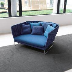 #Ami Armchair by #FrancescoRota for #PaolaLenti - #bluenavy #colordesign