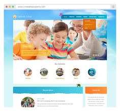 Check Out Our New Mobile Optimized And Responsive Child Care Website Template Starfish