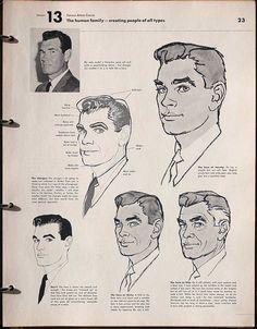 famous artist course! Al Parker drawing instructions.