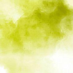 Textura de acuarela, color verde Vector Gratis