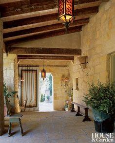 Traditional Entrance Hall by Saladino Group Inc. and Saladino Group Inc. in Santa Barbara, California