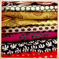 New fabrics love them!