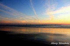 Atardecer en El Puerto de Santa María (Cádiz) / Sunset over El Puerto de Santa María (Cádiz), by @algopasaconmary
