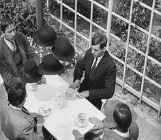 """atomic-flash: """" Ghosts Before Breakfast - 1928 Dadaist film by Hans Richter (gif via SPLETNIK) """""""