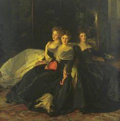 The Misses Hunter, by John Singer Sargent, 1902