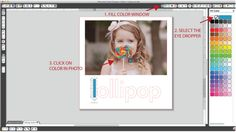 Color your text like your photo Silhouette Blog: tutorials