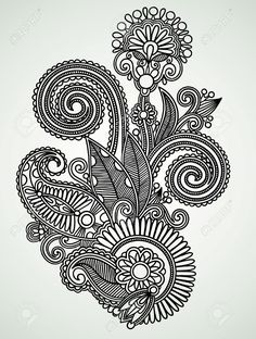 indian design drawing - Google Search