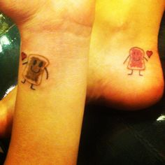 We finally got friendship tattoos :) #bestfriends #friendship tattoos #tatted
