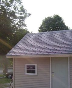 If the size and shape is similar to regular asphalt roofing tiles, if the product comes in a pallet like typical roofing material, can be installed without expensive equipment, and the result resembles what the neighbors have had for 25 years, you can