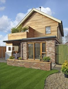Quirky contemporary flat-pack Supplier: Fleming Homes