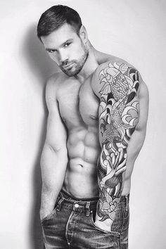 Want more hot men with tattoos... 'Like' us at www.facebook.com/filthygmen