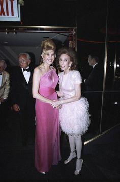 Helen Gurley Brown & Ivanna Trump June 1990
