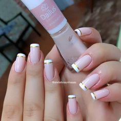 How to choose your fake nails? - My Nails Get Nails, Aycrlic Nails, Hair And Nails, Acrylic Nail Powder, Powder Nails, Feather Nails, Diva Nails, Beautiful Nail Art, French Nails