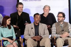 Grimm Cast NBC Summer Press Day for Second Season - Bitsie Tulloch, Russell Hornsby and Silas Weir Mitchell