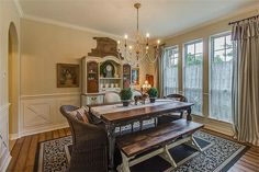 French Country Dinning Room