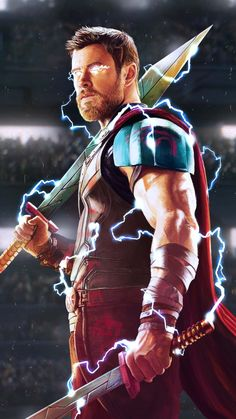 Thor God of Thunder iPhone Wallpaper - iPhone Wallpapers