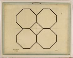 These geometric studies, dated to 1896, were originally educational plates designed to explain the role of geometry in science. The beauty o...