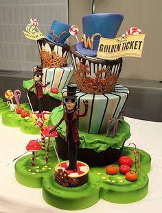 Willie Wonka and the Chocolate Factory Cake