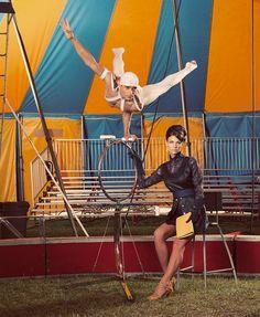 high fashion circus
