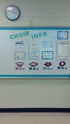 choir tips - printable posters  #vowels #choir