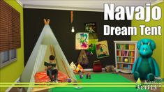 Navajo Dream Tent at Kiwi Sims 4 • Sims 4 Updates
