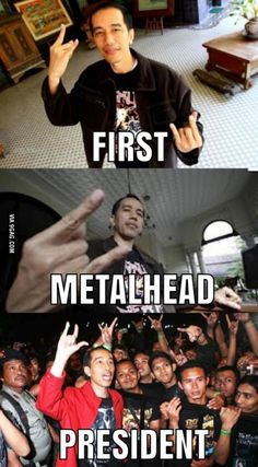 World, I present you our new President of Indonesia: JOKOWI