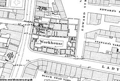 The Workhouse in Leeds, Yorkshire, W. Training School, West Yorkshire, Leeds, Old Pictures, Maps, City, Cities, Map, Old Photos