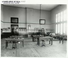 Sydney University - Medical School, Dissecting Room Dated: No date
