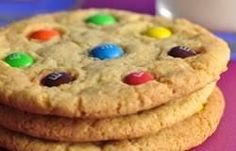 M's cookies have wonderfully crisp edges and soft and chewy centers. Kids absolutely love these candy topped cookies.  From Joyofbaking.com With Demo Video