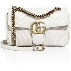 652af99e5e8 Gucci GG 2.0 Mini Quilted Leather Shoulder Bag (41 755 UAH) ❤ liked on