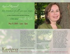 Radical Renewal - For Mothers of all ages and stages. Six Steps to Nourish the Heart and Soul of Mothering. A FREE Talk by Marilyn Taylor  May 9, 2015 - 1pm - 2pm