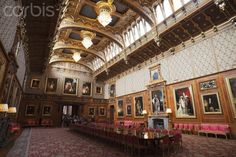 Waterloo Chamber at Windsor Castle