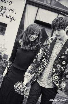 Gu Hye-sun & Ahn Jae-hyun // Marie Claire Korea