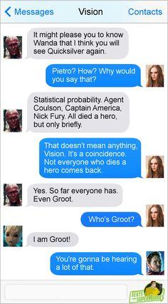 Groot, Bucky, Loki, Iron Man almost died.