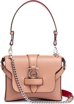 Christian Louboutin Rubylou small nude leather bag