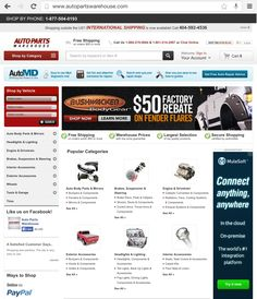 See why AutoParts Warehouse is one of the best eCommerce website and learn how they have dominated a fast growing online market
