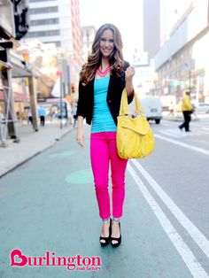 Those pink pants would look great on her! #whatpinterestsmaria