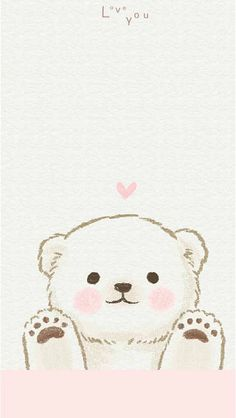 It cute backgrounds, cute wallpapers, wallpaper Cubs Wallpaper, Kawaii Wallpaper, Animal Wallpaper, Disney Wallpaper, Polar Bear Wallpaper, Cute Wallpaper Backgrounds, Wallpaper Iphone Cute, Cute Cartoon Wallpapers, Cute Animal Drawings