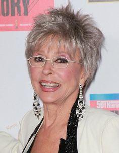 Resultado de imagem para short hair styles for women over 50 gray hair